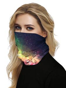 Face Mask шарф Обложка Вселенная печати банданы для рыбалки Мотоспорт Бег
