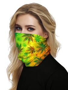 Маска для лица Рот Обложка банданы лист Печать Бесшовные лица шарф крышки маски