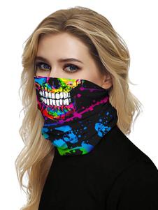 Маска для лица Рот Обложка банданы Сахар черепа Бесшовные лица шарф Обложка маска