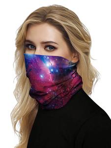 Маска для лица Рот Обложка банданы Вселенная печати Бесшовные лица шарф Обложка маски