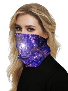 Маска для лица Ротная повязка Банданы Бесшовные шарф для лица 3D-маска для лица с принтом