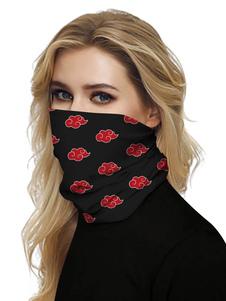 Маска для лица с шарфом