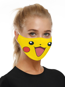 Accesorios para disfraces Máscara Pokemon Print