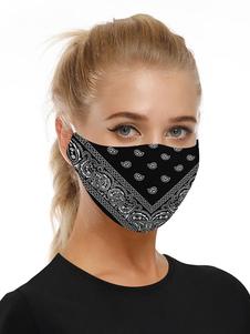 Accesorios para disfraces Máscara Paisley Print