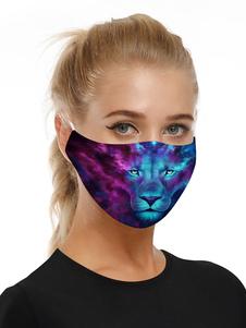 Accesorios para disfraces Máscara Lion Print