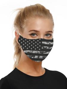 Accesorios para disfraces Máscara Camo 4 de julio Imprimir