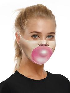 Accesorios de disfraces Máscara Blow Bubbles 3D Print