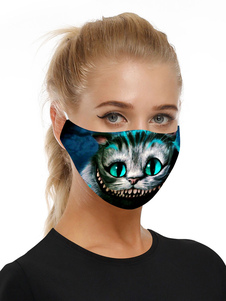 Accesorios de disfraces Máscara Gato de Cheshire