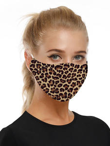 Accesorios para disfraces Máscara Estampado leopardo