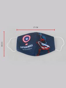 Фата для лица Капитан Америка для детей