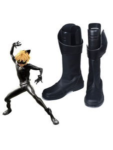 Miraculous Ladybug Cat Noir Shoes Cosplay Costume Boots
