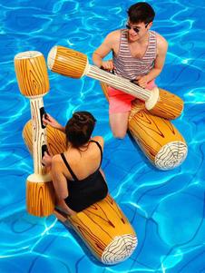 Anillo de natación PVC Field Stripes Ireregular Adult Swim Ring