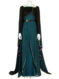 Frozen 2 Anna Queen of Arendelle Косплей Костюм для Хэллоуина