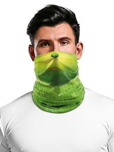 Velo de la cara boca cubierta Pañuelos de impresión de la cara de la bufanda