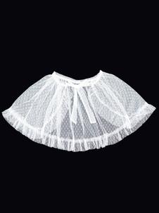 Sobrecamisa Sweet Lolita Cover Ups White Neverland Nets