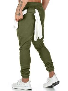Pantalones de chándal para correr para hombre Pantalones de chándal de entrenamiento cónicos con trabilla para toallas