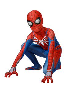 Spider-Man Kids Cosplay Jumpsuit Marvel 2018 PS4 Game Cosplay Costume