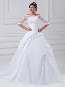 الكرة ثوب حمالة الديكور التفتا ثوب الزفاف الزفاف