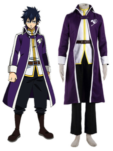 Costume Carnevale Fairy Tail Team Fairy Tail un Gray Fullbuster Cosplay Costume