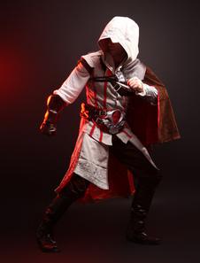 Кредо ассасина Эцио Хэллоуин косплей костюм  Хэллоуин