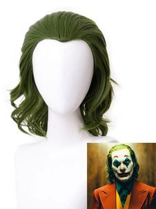 Halloween Die Joker 2020 Film Cosplay Perücke Arthur Fleck Deep Wave Curly Cosplay Perücken Faschingskostüme