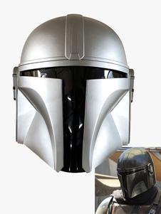 As máscaras de cosplay Mandalorian Máscaras de PVC Star Wars Cosplay