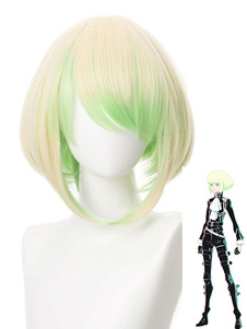 Promare Peruca de Cosplay Lio Fotia Mad Burnish Curto Cosplay Peruca