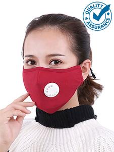 Máscara facial de 5 capas Válvula de respiración filtrada Máscara antipolución reutilizable contra el polvo