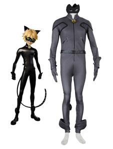 Чудесные сказки Божья коровка & Нуар Noir Cat Cat косплей костюм Хэллоуин