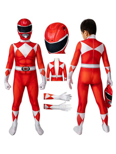 Kyoryu Sentai Zyuranger Geki Cosplay Costume Kids Cosplay Tights