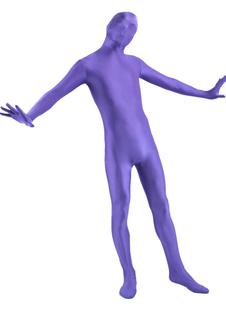 Пурпур Лайкра Спандекс Зентай Костюм костюм полностью для Хэллоуин  Хэллоуин
