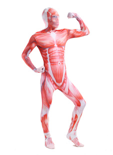 Morph Suit Attack on Titan Lycra Spandex Zentai Suit Unisex Full Body Suit