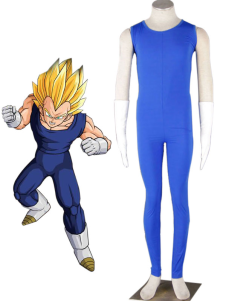 Disfraz Carnaval Traje popular de Vegeta para cosplay de Dragon Ball Halloween Carnaval