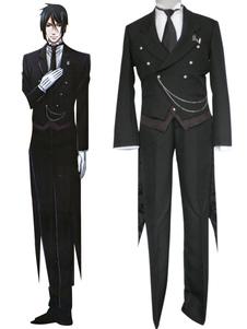 Disfraz Carnaval Traje para cosplay de Sebastian Michaelis de Black Butler Halloween Carnaval