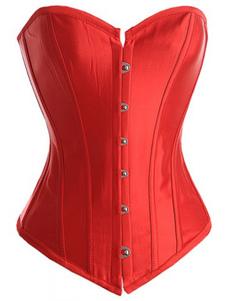 Corsetto rosso sexy con lacci