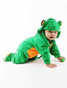 الضفدع الخضراء بيبي هالوين أزياء