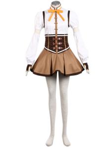 コスプレ衣装,巴 マミ 魔法少女まどか☆マギカ アニメキャラコスプレ衣装 ハロウィン