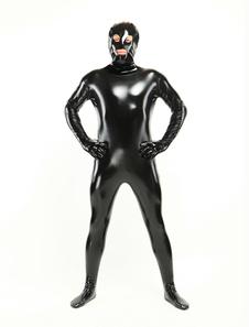 Costume Carnevale Abbigliamento PVC unisex con fori per occhi e bocca