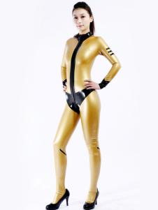 Cool Multi cor Unisex Bodysuit Latex Catsuit