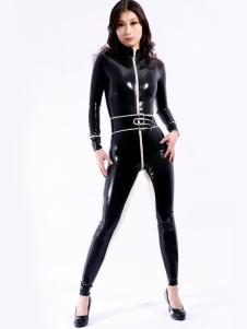 Cool Multi cor, modelagem Unisex Bodysuit Latex Catsuit Halloween
