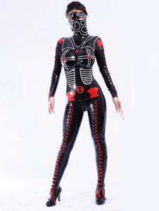 Unisex original Bodysuit Latex Catsuit