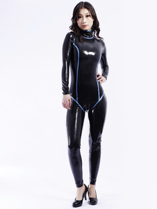 Multi cor moldar Unisex Bodysuit Latex Catsuit Halloween
