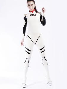 Moda unissex Bodysuit Latex Catsuit Halloween