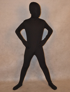 Классический Зентаи Кетсьют Хэллоуин Черный Унисекс лайкра спандекс полное тело костюм для детей Хэллоуин