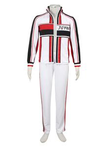 Disfraz Carnaval Uniforme escolar para cosplay del príncipe del Tenis Halloween Carnaval