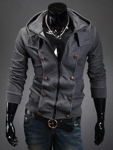Moletom Com Capuz 2020 De Algodão E Capuz Cinzento Com Capuz Para Homem Por Assassins Creed