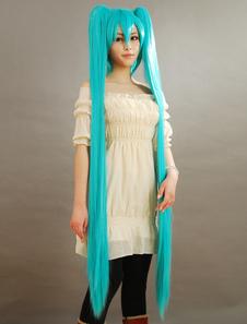 Carnaval Vocaloid sombrerosune Miku 2020 Cosplay peluca Halloween