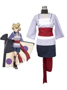Naruto Temari Cosplay Fantasia  Halloween
