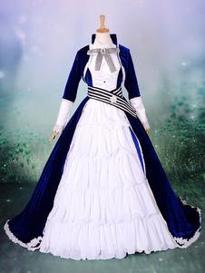 Disfraz Carnaval Vocaloid Kaito Halloween Cosplay traje de la locura del Duke Venomania versión Halloween Carnaval