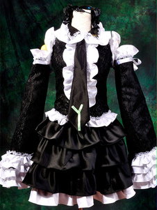 Disfraz Carnaval Vocaloid Hatsune Miku Halloween Cosplay Disfraz Criada Vestido Halloween Carnaval